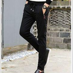 Kaleido - Fleece-Lined Slim-Fit Pants