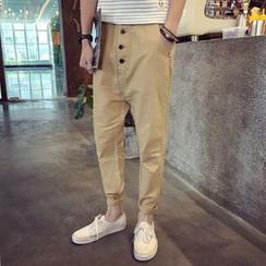 Bay Go Mall - Linen Harem Pants