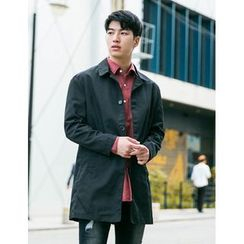 STYLEMAN - Single-Breast Trench Coat