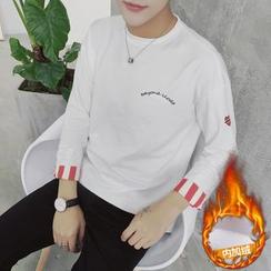 Besto - 刺繡長袖T恤