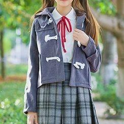 Rega - Hooded Toggle Jacket