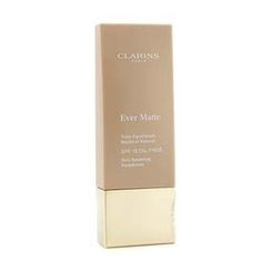 Clarins - Ever Matte Skin Balancing Oil Free Foundation SPF 15 - # 112 Amber