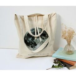 Bags 'n Sacks - Planet Printed Canvas Tote