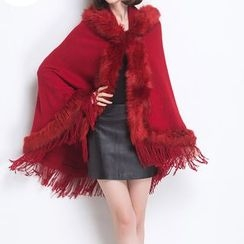 Birdwatch - Furry Fringe Cape