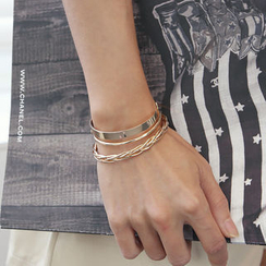 DANI LOVE - Layered Bracelet