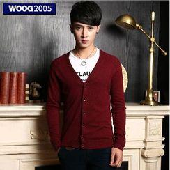 WOOG - Long-Sleeve V-neck Cardigan