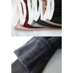 STYLEBYYAM - Brushed-Fleece Leggings
