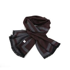 MODSLOOK - Two-Tone Wool Blend Scarf