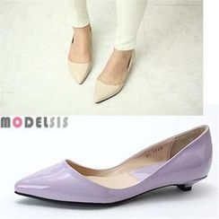 MODELSIS - Pointy Toe Kitten Heels