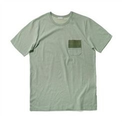 THE COVER - Short-Sleeve Pocket-Trim T-Shirt