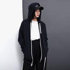 Sonne - 抽繩連帽衛衣外套