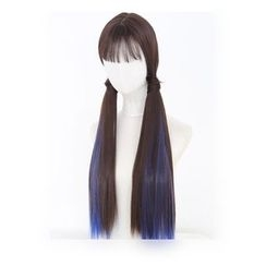My Style Wigs - Straight Full Wig with Two Ponytails
