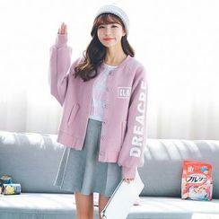 AiAi Bear - Letter Knit Jacket