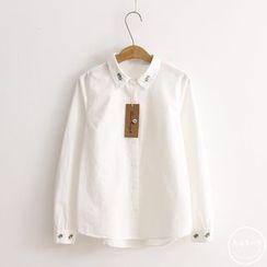 PANDAGO - Embroidered Shirt