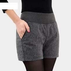 Jenny's Couture - Woolen Shorts