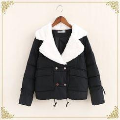 Fairyland - Notch Lapel Padded Jacket