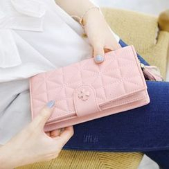 Rinka Doll - Quilted Tasseled Wallet