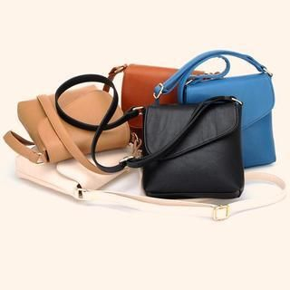 BeiBaoBao - Asymmetric-Flap Crossbody Bag