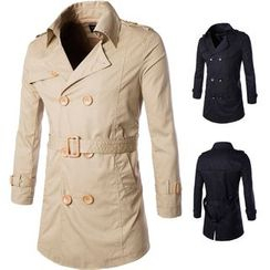 Constein - Double-breasted Trench Coat