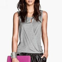 Obel - Sleeveless Wrap Top