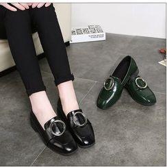 Yoflap - Glitter Platform Loafers