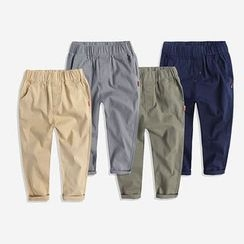 Happy Go Lucky - Kids Plain Pants