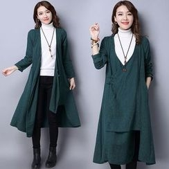 Diosa - Plain Long Coat