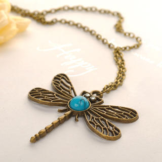 Fit-to-Kill - Dragonfly Necklace
