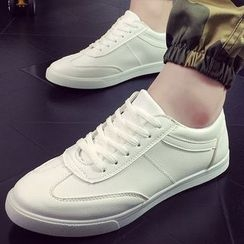 Tabris - Faux Leather Sneakers
