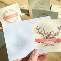 Homey House - Print Greeting Card