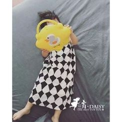 March Daisy - Kids Piped Printed Sleeping Bag