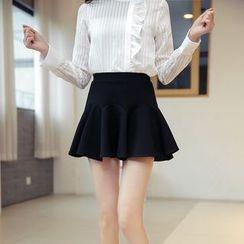 潞依韓 - 時款A字裙