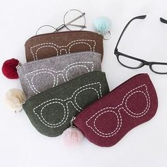 Full House - indigo - Cosmetic Bag / Glasses Pouch