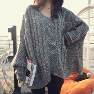 45SEVEN - Boxy Knit Sweater