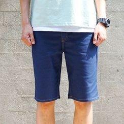 SCOU - Stitched Denim Shorts