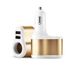 Joyroom - 3 in 1 Car USB Charger