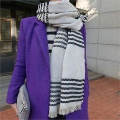 LIPHOP - Patterned Woven Scarf