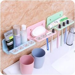 VANDO - Suction Toothbrush Holder