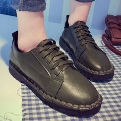 Limone - Faux Leather Sneakers