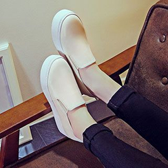 YIYA - Faux-Leather Slip-Ons