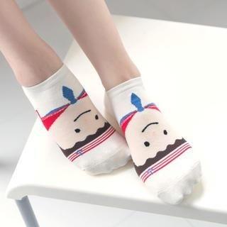 K-Style - Doll Print Socks