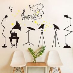 LESIGN - Instrument Wall Sticker