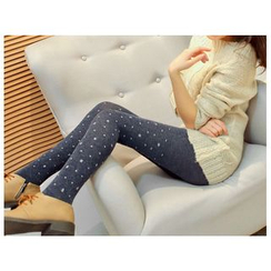Hyoty - Snowflake Printed Leggings