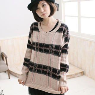 CatWorld - Plaid Sweater