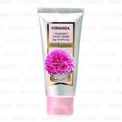 Fernanda - Fragrance Hand Cream Pink Euphoria (Fresh Sweet from Juicy Fruits)