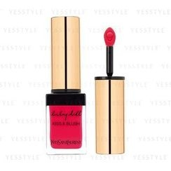 Yves Saint Laurent 伊夫聖羅蘭 - Baby Doll Kiss and Blush - # 05 Rouge Effrontee