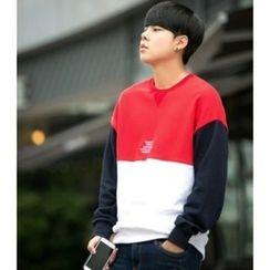 ABOKI - Color-Block Sweatshirt