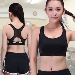 Delico - Set: Sport Bra Top + Shorts