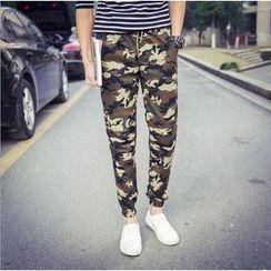 Kieran - 迷彩哈伦裤