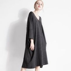 Halona - Long-Sleeve Dress